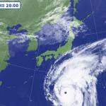 【悲報】日本に接近中の台風19号、地球史上最大級か。衛星写真に専門家騒然